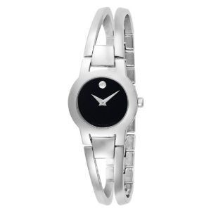 Movado Amorosa Stainless Steel Bangle Women's Watch